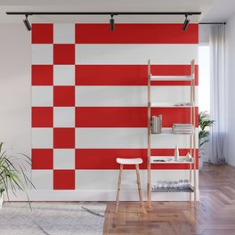 flag of bremen Wall Mural