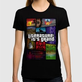 Grand Theft Literature T-shirt