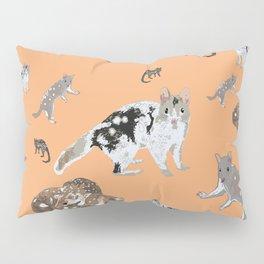 Eastern Quoll (Dasyurus viverrinus)  mandarin Pillow Sham