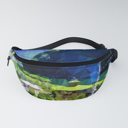 valley and mountains Fanny Pack