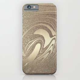Mermaid Gold Wave 2 iPhone Case
