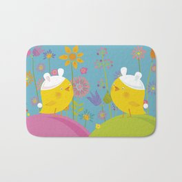 Happy Easter Time! Bath Mat