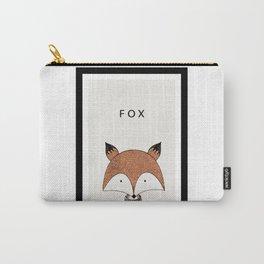 Cute hand drawn fox design Carry-All Pouch