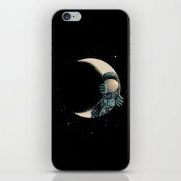 Crescent moon iPhone Skin