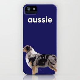 Australian Shepherd #5 iPhone Case