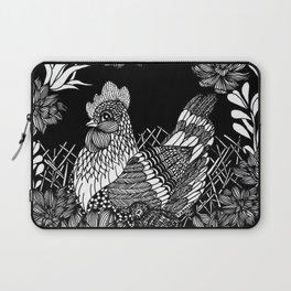 """Inktober, Day 5 """"Chicken"""" #inktober #inktober2018 Laptop Sleeve"""