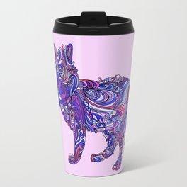 Fox by Night Travel Mug