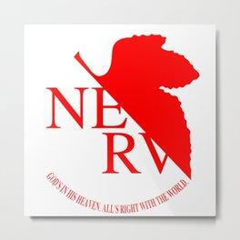 Nerv Metal Print
