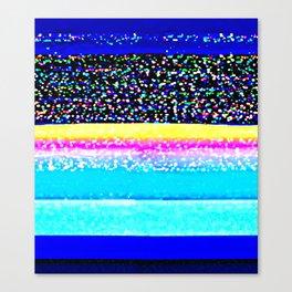 It's Just a Glitch Canvas Print