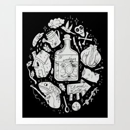 Babes in the Woods Art Print