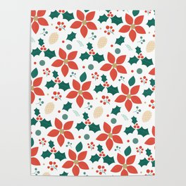 Deck the Halls (Patterns Please) Poster