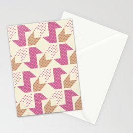 Clover&Nessie  Pink/Sand Stationery Cards