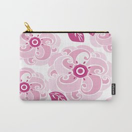 Twirly Rose Carry-All Pouch