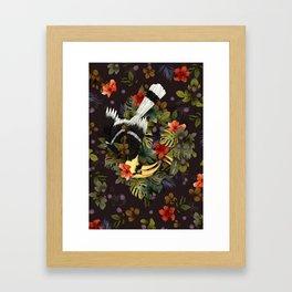 Hornbill Mother's Shelter Framed Art Print