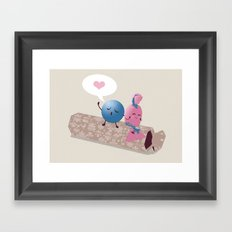 Sweet Talk Framed Art Print