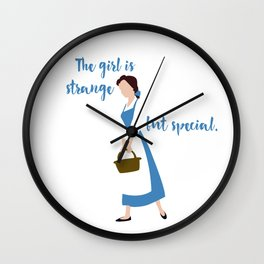Strange But Special Wall Clock