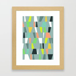 Modern Geometric 41 Framed Art Print
