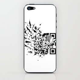 Break a (QR) Code iPhone Skin