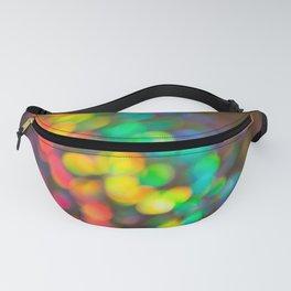 Rainbow Bokeh 1 Fanny Pack
