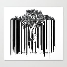 unzip the code. Canvas Print