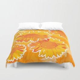 Sunflower Jubilee Duvet Cover