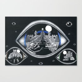 The eye of Truth Canvas Print
