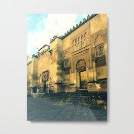 Sunshine & La Mezquita Metal Print