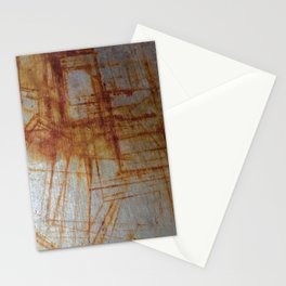 Rusty Boxy Stationery Cards