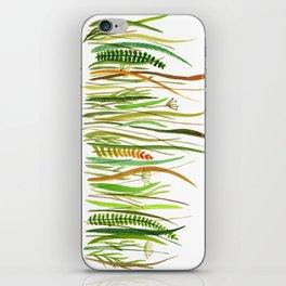 Prairie Watercolor by Robayre iPhone Skin