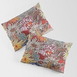 Clown fish and Sea anemones Pillow Sham