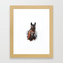 going forward. Framed Art Print