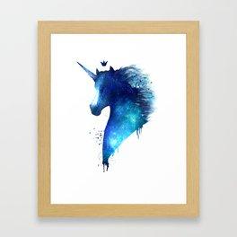 cosmic Unicorn Framed Art Print