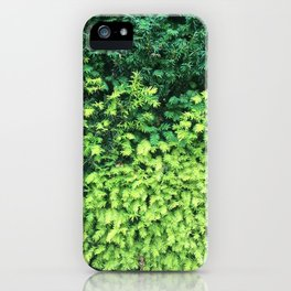 Lush Greens Photography iPhone Case
