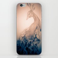 blankets iPhone & iPod Skins featuring Blankets like Mountains - desaturated. by ShashArt