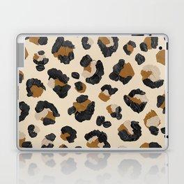 Leopard Print – Neutral Gold Light Palette Laptop & iPad Skin