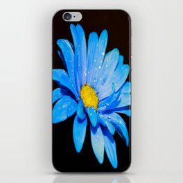 Blue Daisy iPhone Skin
