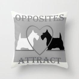 Scotty Dogs  Throw Pillow