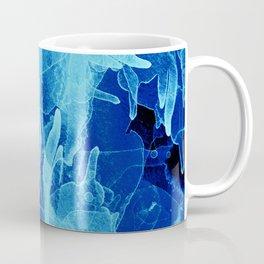 Microcosmos Azul Coffee Mug