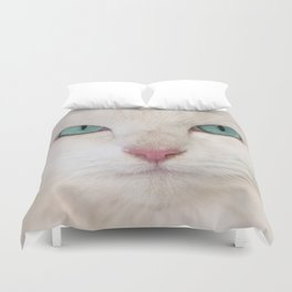 WHITE DELIGHT Duvet Cover