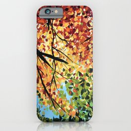 Lazy Fall days iPhone Case