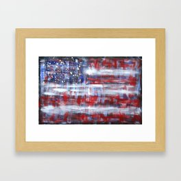 Spangled Banner Framed Art Print