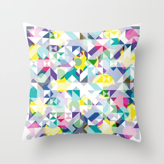 Aztec Spot  Throw Pillow