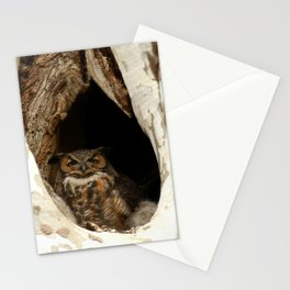 Protective mom Stationery Cards
