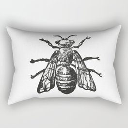Wasp Rectangular Pillow