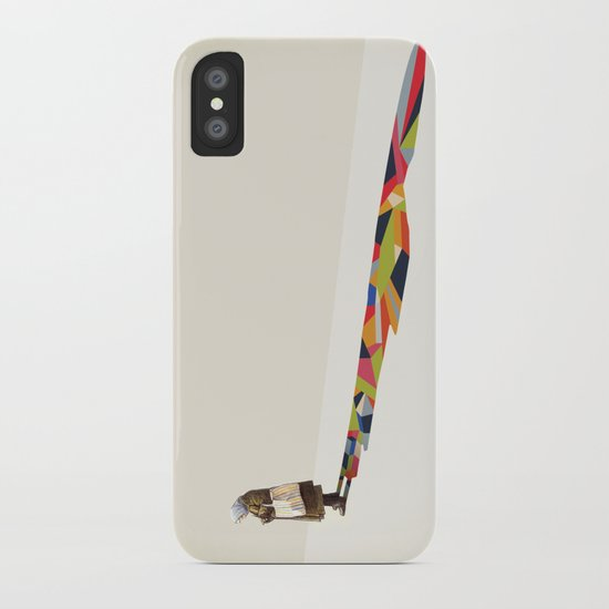 Walking Shadow, Old Lady iPhone Case
