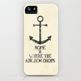 Where The Anchor Drops iPhone Case