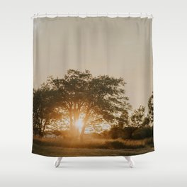 August Rising Shower Curtain
