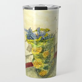 A Bag of Pineapples Travel Mug