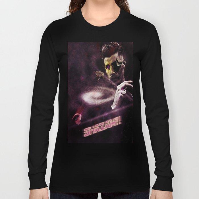 Shazam Long Sleeve T-shirt by everevolvingepithet