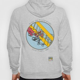 Wilbur and Orville Wright, 1903 Hoody